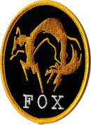 FOX Iron on Patch From Metal Gear Solid the Phantom Pain