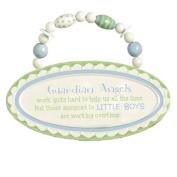 Grasslands Road Baby Love Ceramic Plaque - Guardian Angels