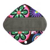 20cm Charcoal Bamboo Mama Cloth/ Menstrual Pads/ Reusable Sanitary Pads / Panty Liners