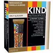 Kind All Natural Health Snack Bars Madagascar Vanilla Almond -- 12 - 40ml Bars