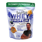Jay Robb - Grass-Fed Whey Isolate Vanilla Protein Powder, Outrageously Delicious, 350ml