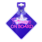 . Baby on Board Sign - Little Princess