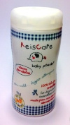 Reiscare , 100% Talc Free Baby Powder , Rice Starch Extra Mild , Hypoallergenic, Water Repellent , Oil Absorbent and Biodegradable , 50 G (50ml) , Travelling Size