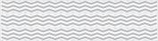 Grey Chevron Border Wall Decals / Chevron Wall Decor