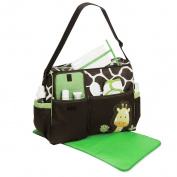 3Pcs/Set Multifunction Baby Nappy Nappy Mummy Feeding Handbag Tote Shoulder Bag
