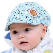 Kangkang@ Baby Baseball Cap Hat Children Infants Han Edition Tide Cap Cute Baby Beret Toddler Sun Protection Hat Infant Floppy Cap