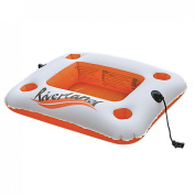 Floating Drink Holder - Large Inflatable Drink and Cooler Holder For Pool - Holds 4 Drinks and Cooler