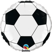 46cm Soccer Ball Packaged Mylar Balloon