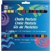 Loew-Cornell Chalk Pastels, 24-Count