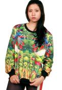 THENICE Women's Digital Print Pullovers Sweatshirt
