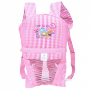 BestBaby Breathable Sof Baby Carrier Pink