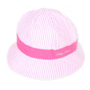 Millya Infant Baby Toddler Unisex Solid Brim Stripe Sun Protection Hat 100% Cotton