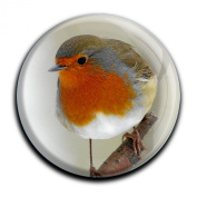 "Magnet in a round shape ""Robin"""