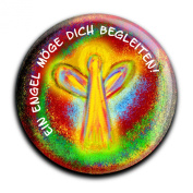 """Magnet in a round shape """"Christian"""""""