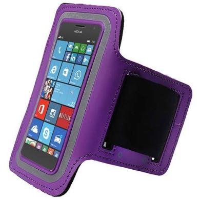 Green Sports Gym Jogging Universal Armband Pouch Case Nokia Lumia ...