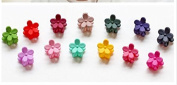 Cuhair(tm) 10pcs Assorted Bangs Mini Hair Claw Clip Hair Pin Flower Accessories for Girl Women Baby Mix Coloured