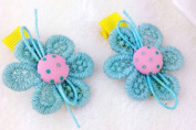 Cuhair(tm) 4pcs Flower Same As Picture Design for Women Baby Girl Accessories Princess Bb Hair Clips Hairpin Girl Clip Band Retail or Wholesale