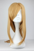 "C-WIG-217D Copper-Blonde Wig - 90 cm Long - For ""Sword Art Online"" Cosplay / Window Doll / Carnival / Fancy-Dress Party"