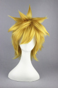 30cm Orange Colour Short Cosplay Wigs For Bleach/Gintama Cosplay And Halloween Wigs