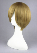 Flaxen Colour Short Wigs For The Prince Of Tennies/Gintama/DEATH NOTE