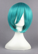 Green Colour Cosplay Wigs For MIKUO Of VOCALOID Family