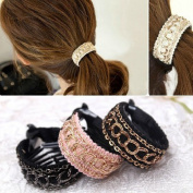 Cuhair(tm) Gril (3 Pcs/lot) Hair Accessories Ponytail Holders Hairbands Hair Circle Women Simple Ponytailer