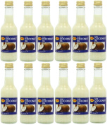 12 x KTC 100% Pure Coconut Oil 250ml, Hair & Skin Moisturiser Edible, Cooking
