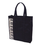 Lesson bag black keyboard (japan import) by Nakano