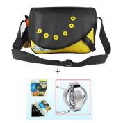 Anime fans Japanese Anime Naruto Shoulder School Bag Messenger Bags + 1pcs Naruto Ring Necklace
