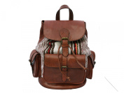 Killim and Leather Rucksack
