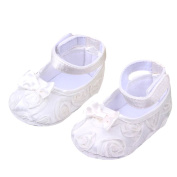 Cute Baby Girl Crib Shoes Comfortable AntiSlip Princess Toddler 0-12 month
