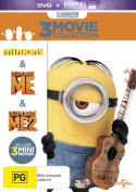 Minions/Despicable Me/Despicable Me 2 [DVD_Movies] [Region 4]