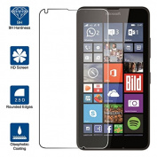 Beiuns Tempered Glass Screen Protector Ultra-Hard for Microsoft Lumia 640 4G(Screen