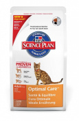 Hills Pet Nutrition Feline Adult Optimal Care Lamb 5kg