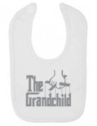 Purple Penguin Clothing Baby Bib - The Grandchild