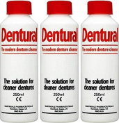 Dentural Liquid Denture Cleanser 250ml x 12 Packs