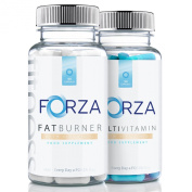 FORZA FITNESS Fat Burner (90 Capsules) & Multivitamin (90 Capsules) Weight Loss
