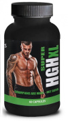 HGH XL - Muscle Growth & Strength - Super Advanced Formula - Limited Black Bottle Edition