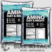 1000 Tablets x BCAA + GLUTAMINE Mega Amino Acids PROTEIN BODYBUILDING PACK - 1st CLASS UK P & P