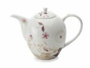 Maxwell & Williams Kimono Bone China Teapot - White - 1.25L