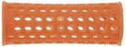 PLASTIC HAIR ROLLERS ORANGE Pk10 x 23mm + FREE PINS