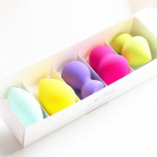 De Prettilicious Makeup Blender Sponge 5-Shape Set. Liquid Foundation and Pressed Powder Cosmetic Beauty Blender Sponge. Free Beauty E-book. Perfect for Birthday, Holiday, Thanksgiving gift. Best Gift for Her. 100% Risk Free Guarantee. Return it within ..