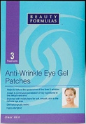 Beauty Formulas Anti-Wrinkle Eye Gel Patches - 3 Treatments
