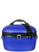 Davidt's Hard Shell Blue Vanity Case