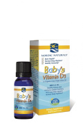 Baby's Vitamin D3, 400 I.U., 0.37 fl oz (11 ml) - Nordic Naturals - UK Seller