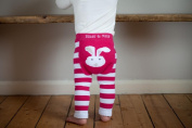 New Baby Leggings/footless tights from Blade and Rose - girls bunny design