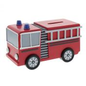 Baby Gift - Fire Engine Money Box