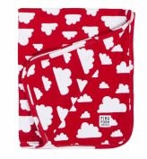 Farg Form Red Cloud Baby Blanket