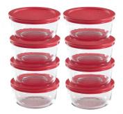 World Kitchen Pyrex 16-Piece, 2-Cup Food Storage Set