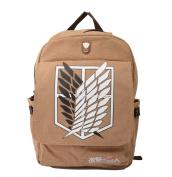 Attack on Titan Survey Corps Eren Anime Backpack Shoulder Bag Schoolbag